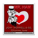 Mr Ham Tile Coaster