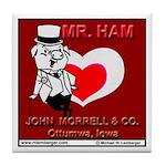Mr Ham Tile Coaster