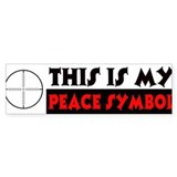 My Peace Symbol Car Sticker