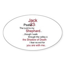 Jack Shephard-Psalm 23/ Decal