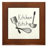 Kitchen Bitch - Framed Tile