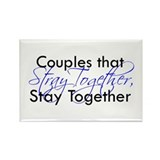 Couples that stray ... Rectangle Magnet