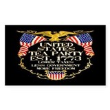 United States Tea Party Decal