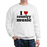 I Heart Country Music Sweatshirt