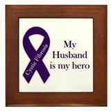 Husband CF Hero Framed Tile