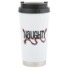 Naughty Ceramic Travel Mug