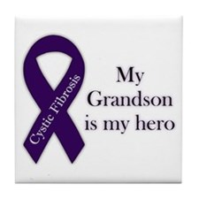 Grandson CF Hero Tile Coaster