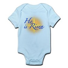 He is Risen Infant Bodysuit