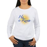 He is Risen Women's Long Sleeve T-Shirt