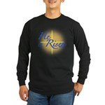 He is Risen Long Sleeve Dark T-Shirt