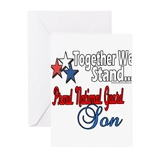 National Guard Son Greeting Cards (Pk of 20)