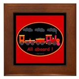 Choo-Choo Train Framed Tile