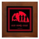 Old King Cole Framed Tile