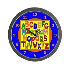 Everyday Objects ABC Wall Clock