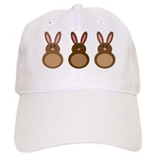 Chocolate Easter Bunny Baseball Cap
