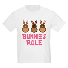 Easter Bunnies Rule T-Shirt
