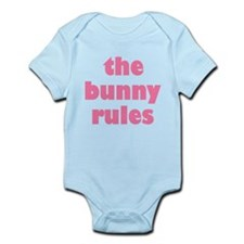 Funny Bunny Rules Infant Bodysuit