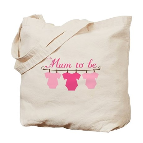 Baby Mum To Be Announcement Tote Bag