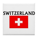 Unique Swiss Tile Coaster