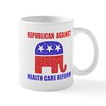 Republican Against Health Car Mug