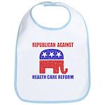 Republican Against Health Car Bib