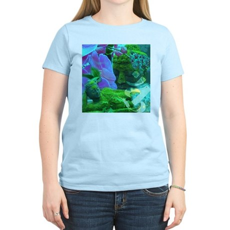 Buddhas & Orchids Women's Light T-Shirt