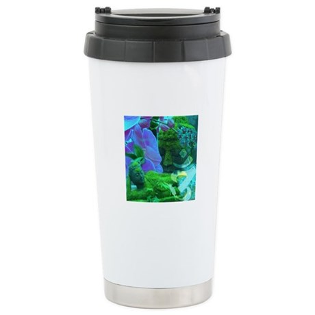 Buddhas & Orchids Ceramic Travel Mug