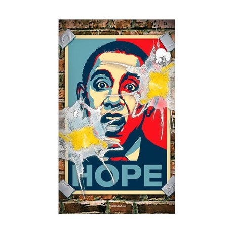 HOPE - Updated Sticker (Rectangle 50 pk)