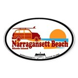 Narragansett RI - Surfing Design Decal