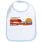 Narragansett RI - Surfing Design Bib