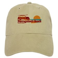 Narragansett RI - Surfing Design Baseball Cap