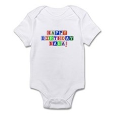 Happy Birthday Nana Infant Bodysuit