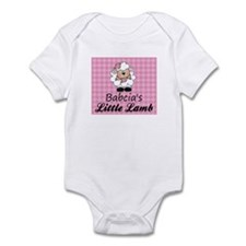 Babcia's Little Lamb Onesie