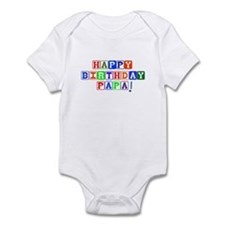 Happy Birthday Papa Infant Bodysuit