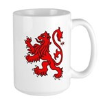 Scottish Lion Large Mug