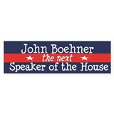 John Boehner - next Speaker Bumper Sticker