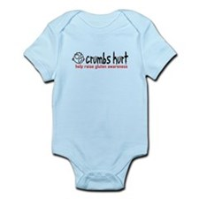 Crumbs Hurt Infant Bodysuit