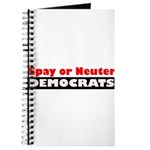 Spay or Neuter Democrats Journal