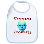 Creepy Crowley Bib