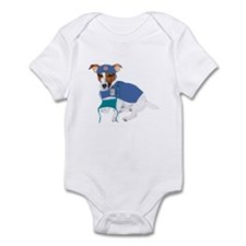 Jack Russell Scrubs Infant Bodysuit