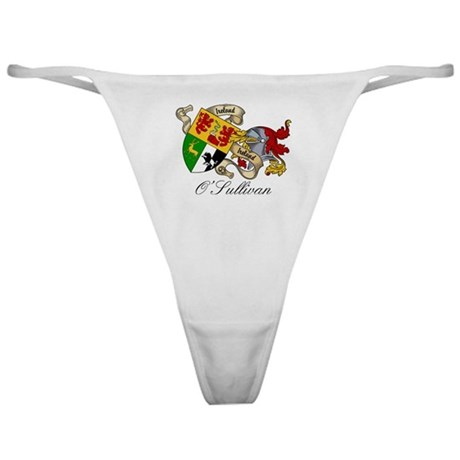 O Sullivan Coat of Arms Classic Thong