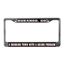 Durango Colorado License Plate Frame