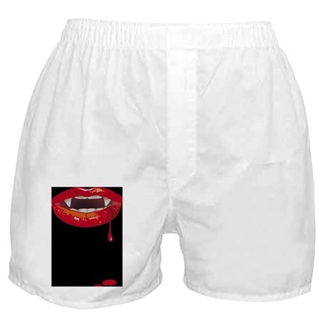 Dark Vampire Lips Boxer Shorts
