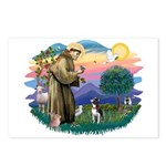 St Francis #2/ Boston Ter Postcards (Package of 8)