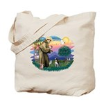 St Francis #2/ Boston Ter Tote Bag