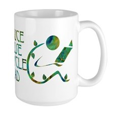 Green Reader Coffee Mug