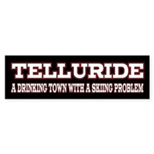 Telluride Colorado Bumper Sticker