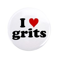 "I Heart Grits 3.5"" Button"