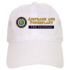 FAA Certified A & P Mechanic Baseball Cap