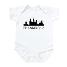 Philadelphia Skyline Infant Bodysuit